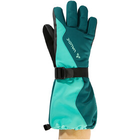 VAUDE Snow Cup Gloves Kids peacock